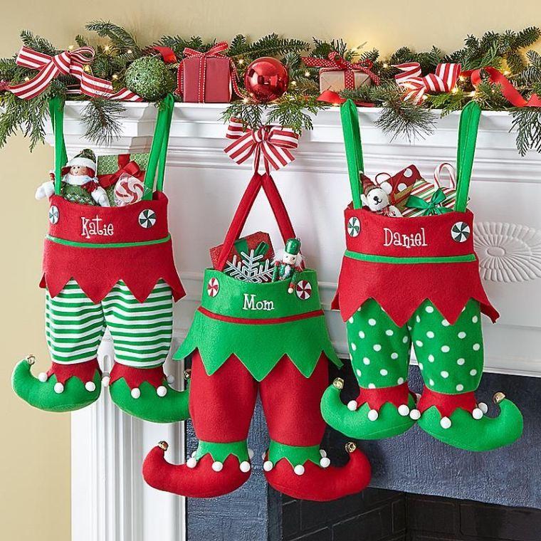 Christmas elves legs