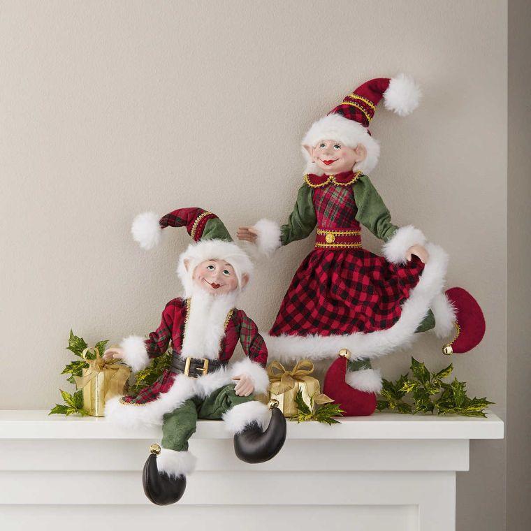 Christmas elves feeling