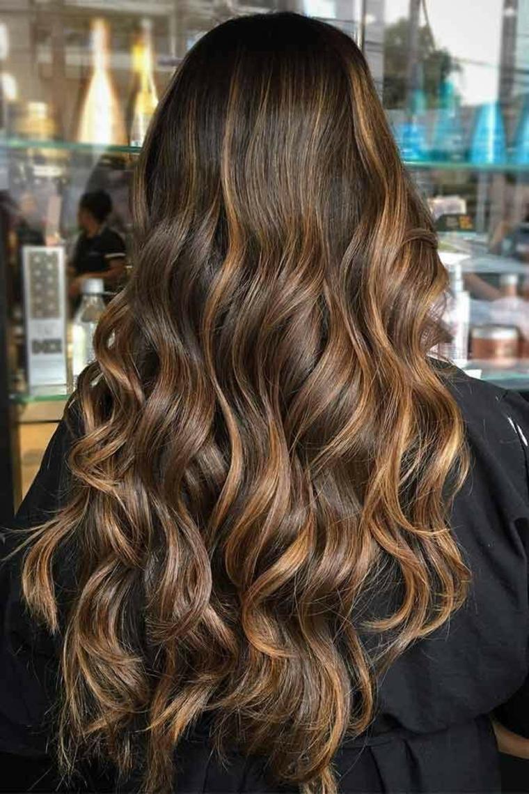 California wicks for dark hair