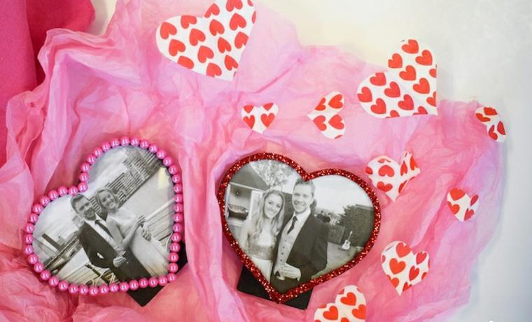 photo frames-hearts