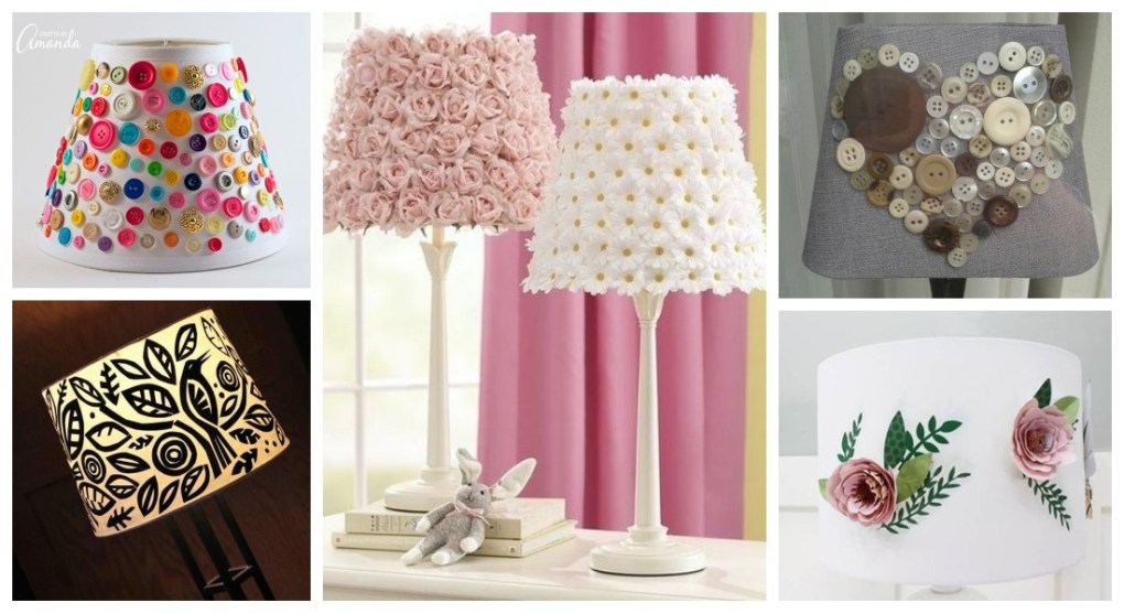 How to decorate lampshades