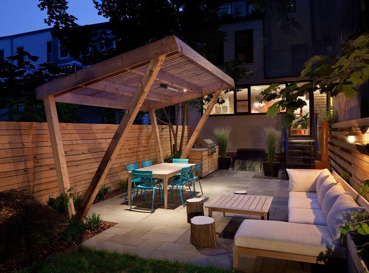 garden design photos-dining-room-pergola