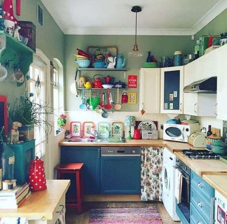 small combination kitchens