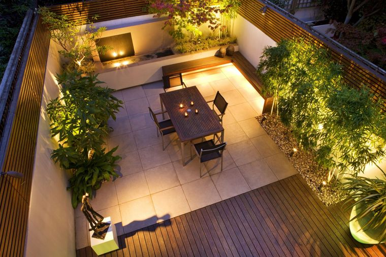 terrace decoration lighting