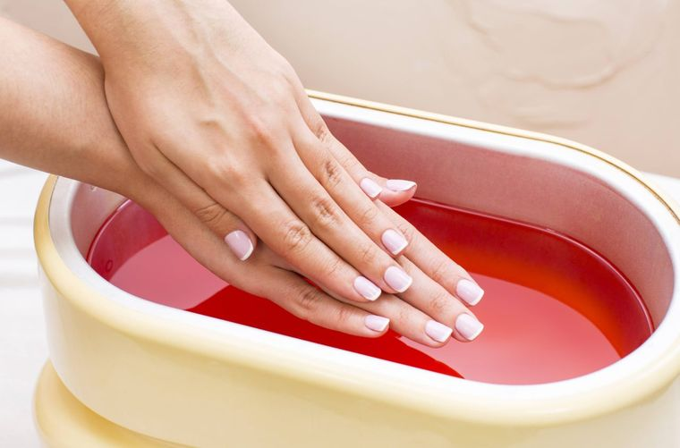types of paraffin manicure
