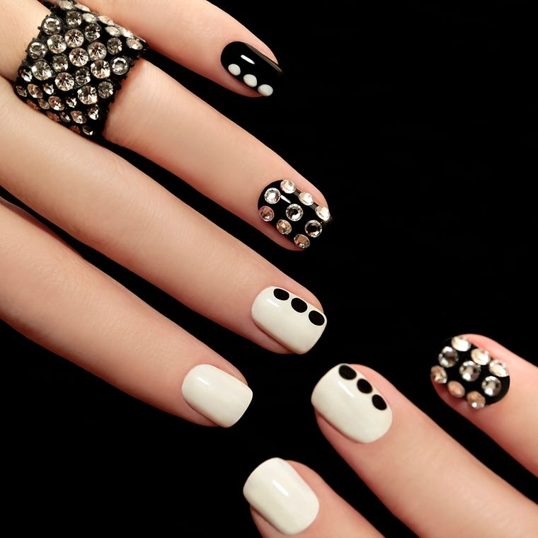 types of manicure combination