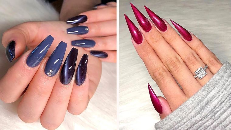 long manicure types