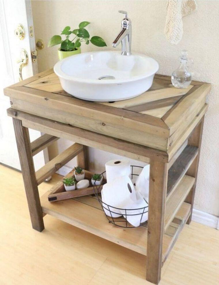 DIY farmhouse style dressing table