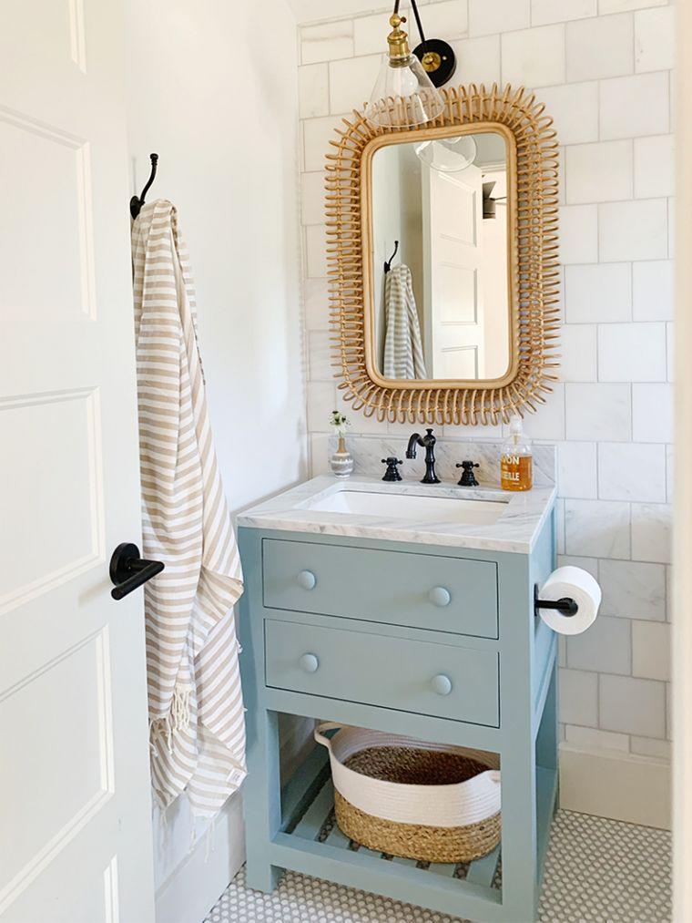 DIY practical bathroom vanity