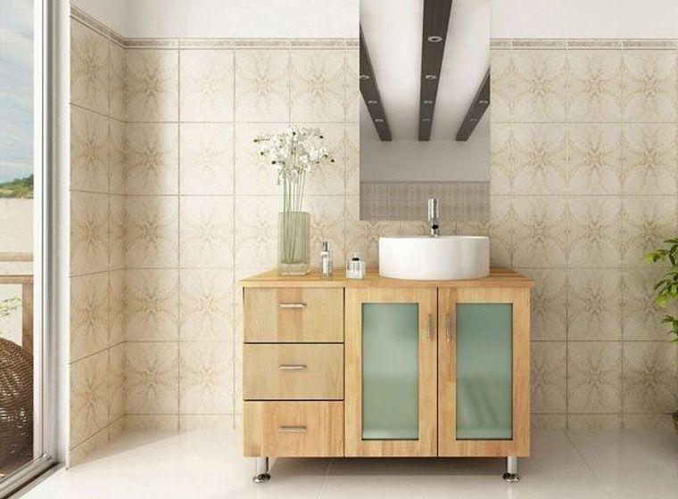 DIY different bathroom vanity