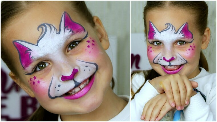 children's face paint cat