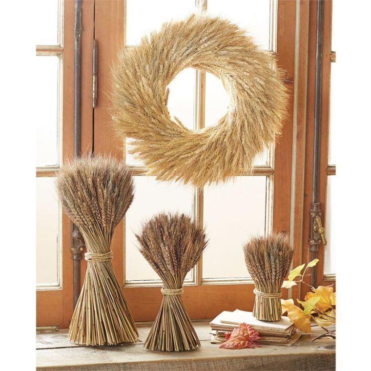 ears of wheat rustic decoration