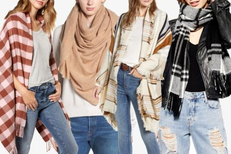 types of scarves styles