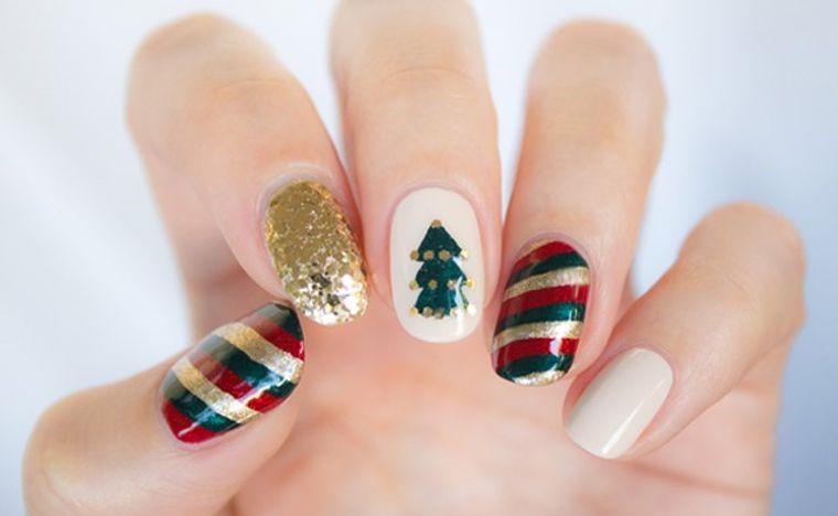 Christmas Nail Designs Various Motifs