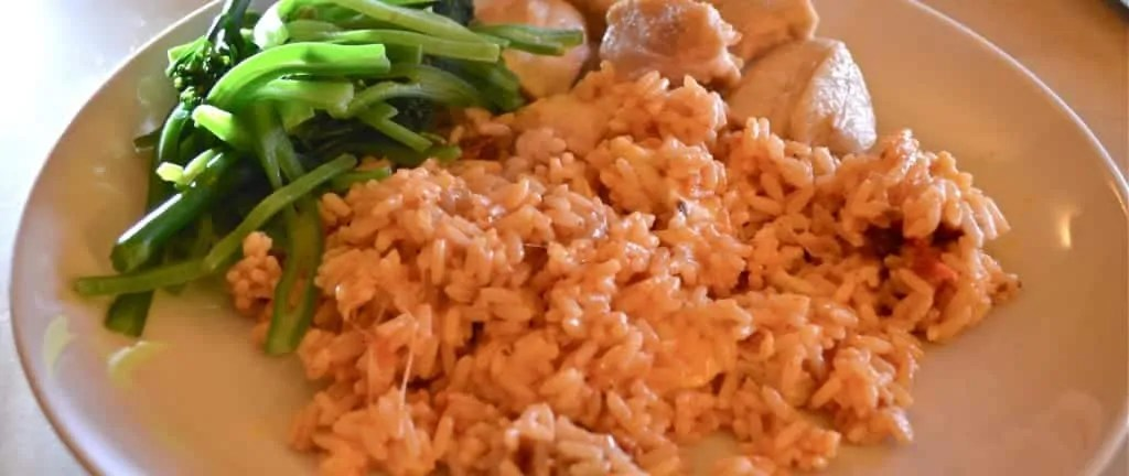 Dinner in a Hurry: Chicken, Rice and Greens