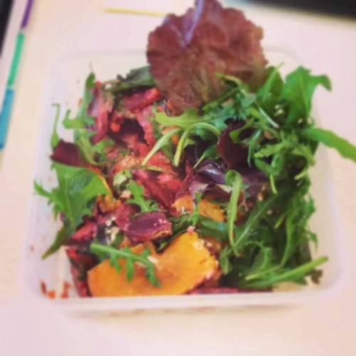 Sweet Potato Salad with Beetroot