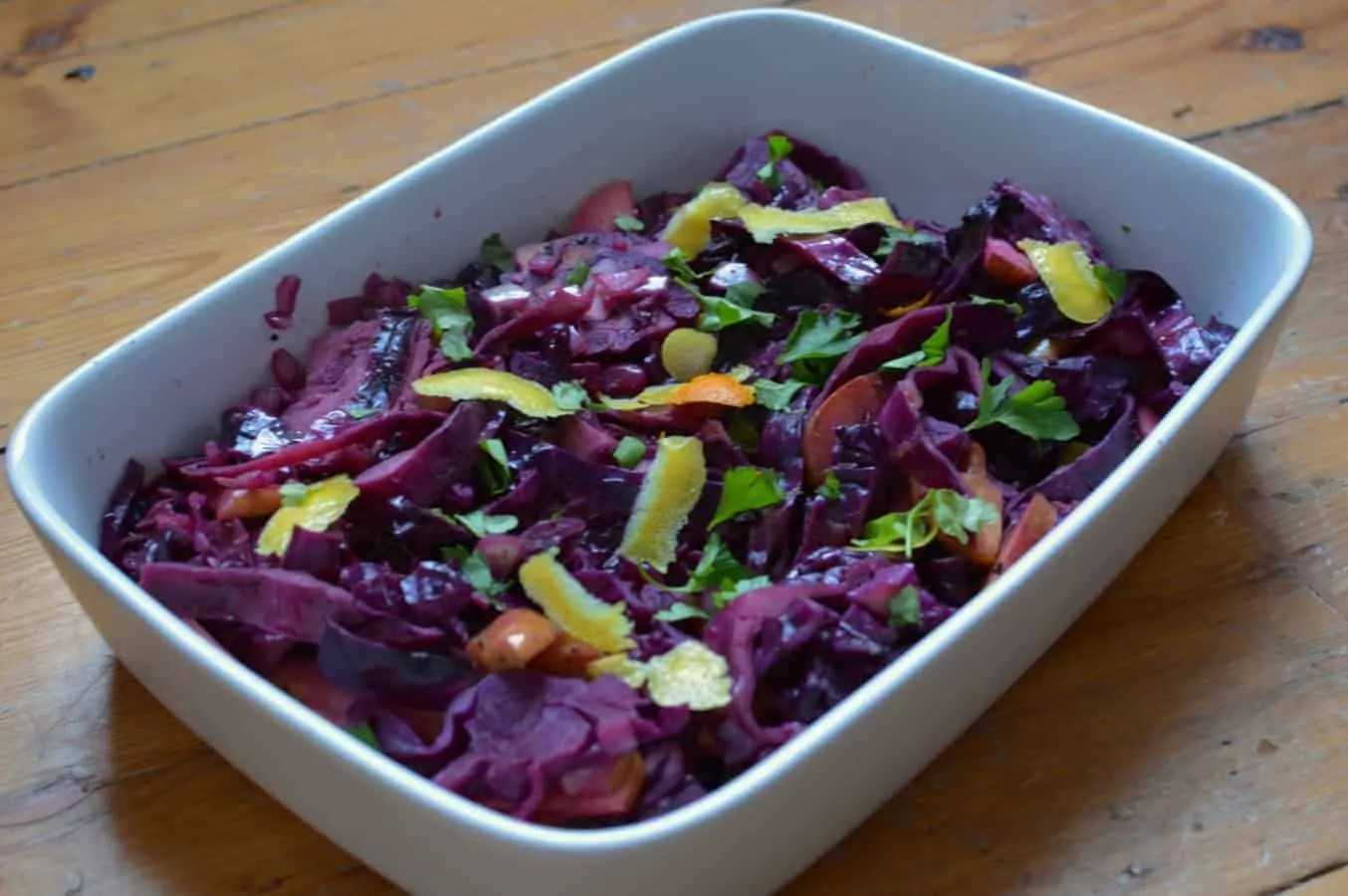 Red Cabbage, But Better - The Usual Saucepans