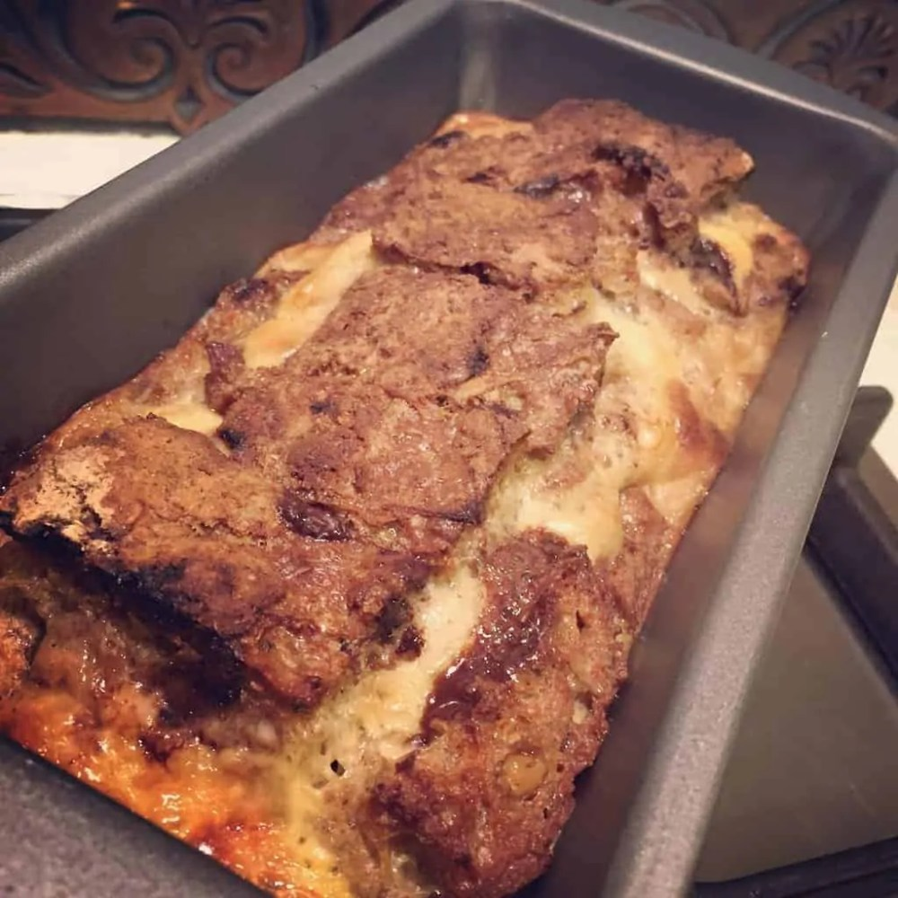 Kahlua Bread and Butter Pudding