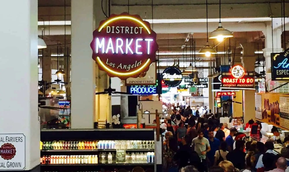 Grand central market - 48 hours in Los Angeles
