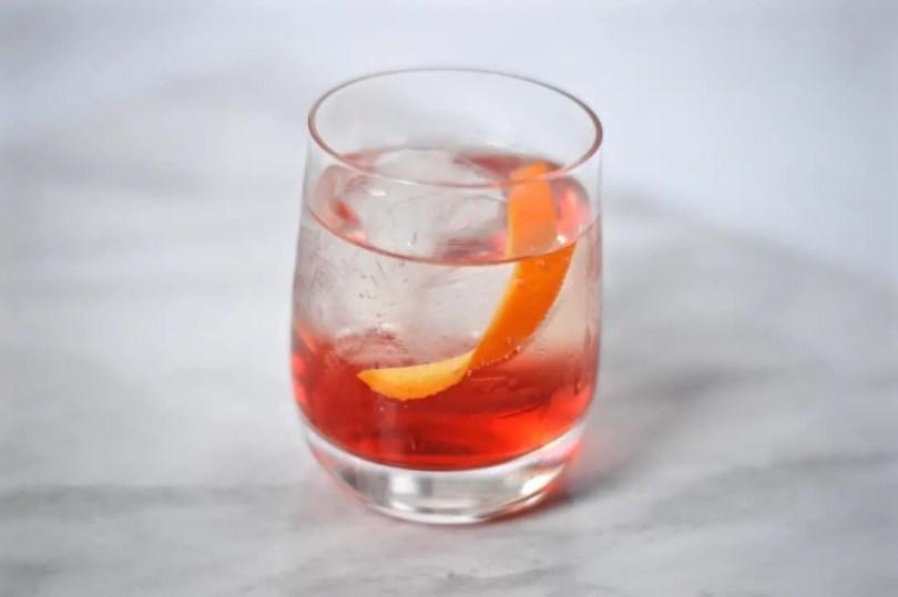 Prosecco cocktails - prosecco negroni