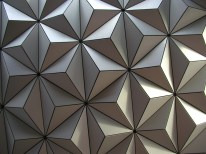 """Spaceship Earth Tiles"" by bdesham is licensed under CC BY-SA"