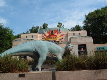 """Dinosaur Ride Animal Kingdom Walt Disney World"" by mrkathika is licensed under CC BY-SA"