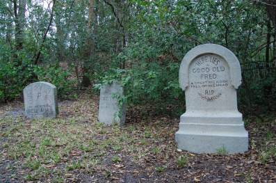 """Haunted Mansion Tombstones"" by Lunchbox Photography is licensed under CC BY"