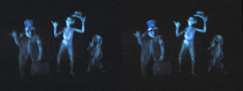 """""""Disneyland - Haunted Mansion Hitchhaunters 3D Stereogram"""" by BoogaFrito is licensed under CC BY"""