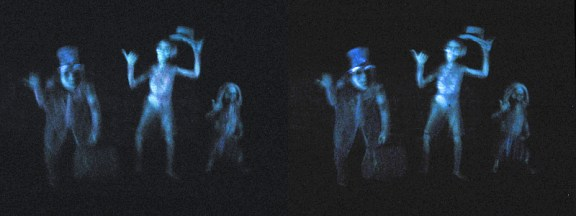 """Disneyland - Haunted Mansion Hitchhaunters 3D Stereogram"" by BoogaFrito is licensed under CC BY"