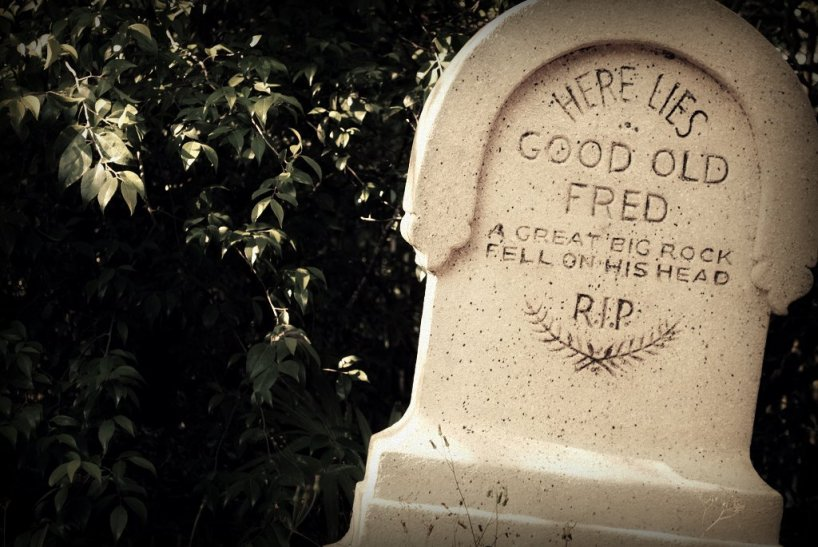 """#22 Here Lies Good Old Fred"" by tcwmatt (on Hiatus) is licensed under CC BY-ND"