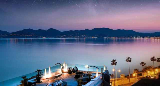 View of the Gorgeous French Riviera Mountains from the Radisson Blu Cannes | where to Propose in Cannes | The Vacation builder
