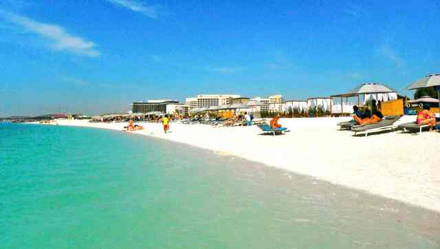 Best Things to do at Yas Island   The Beach   The Vacation builder
