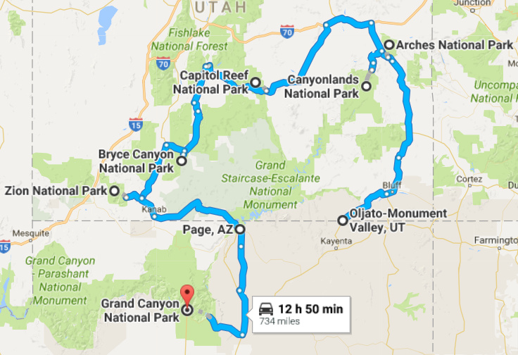 Utah-Arizona Road Trip