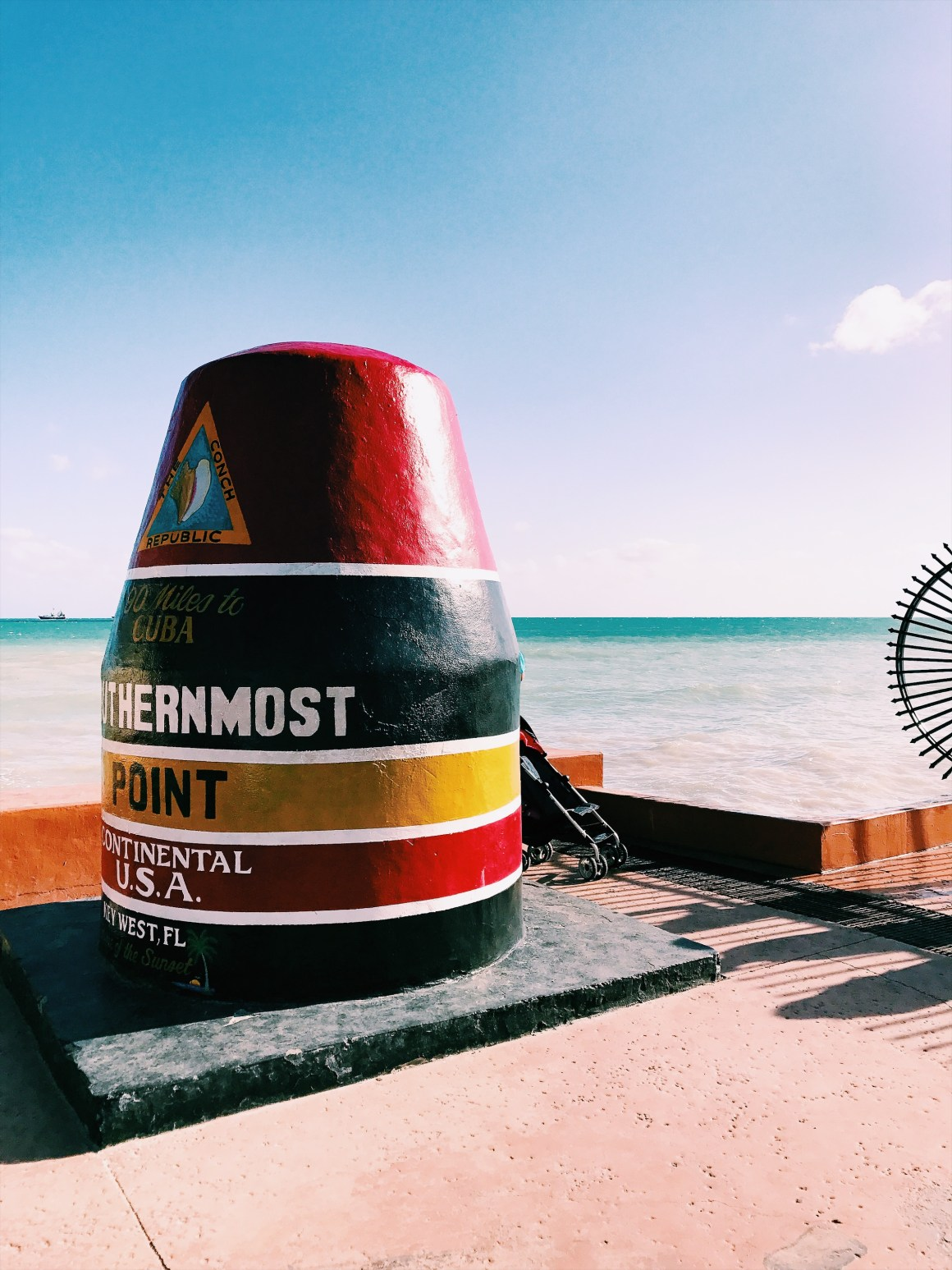 Southern most point in Key West - The Vagabond Wayfarer