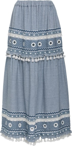 Ataliya Embroidered Skirt