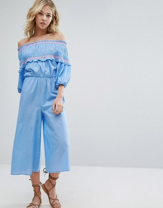 Off shoulder jumpsuit ASOS
