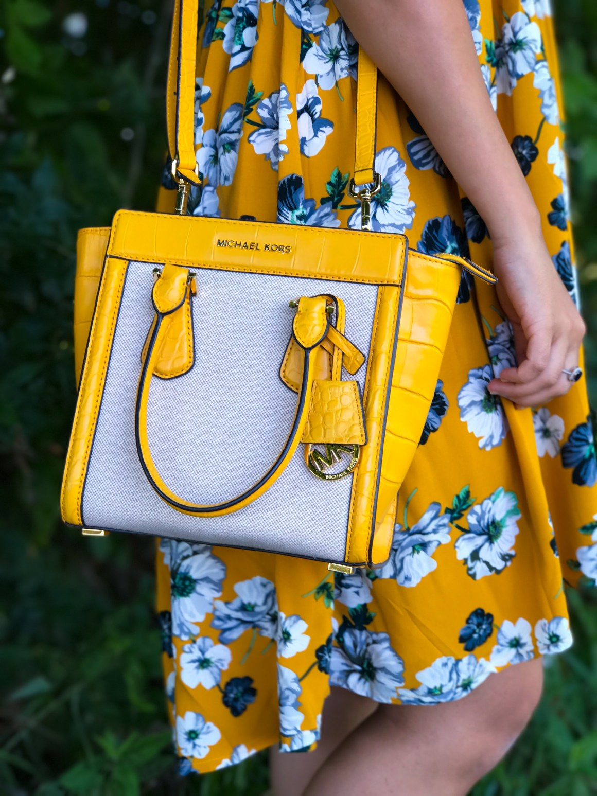 Michael Kors Yellow Satchel