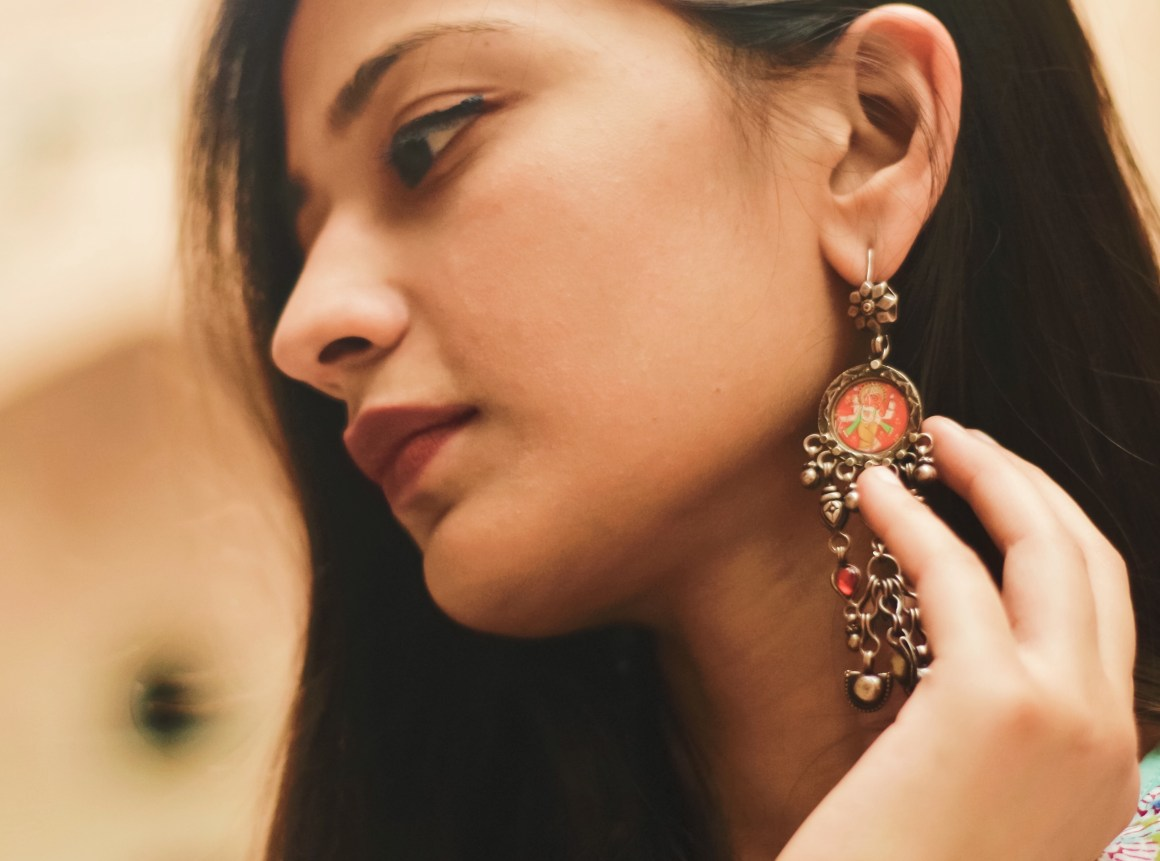 Silver Earrings - Chhatrala Jewels |