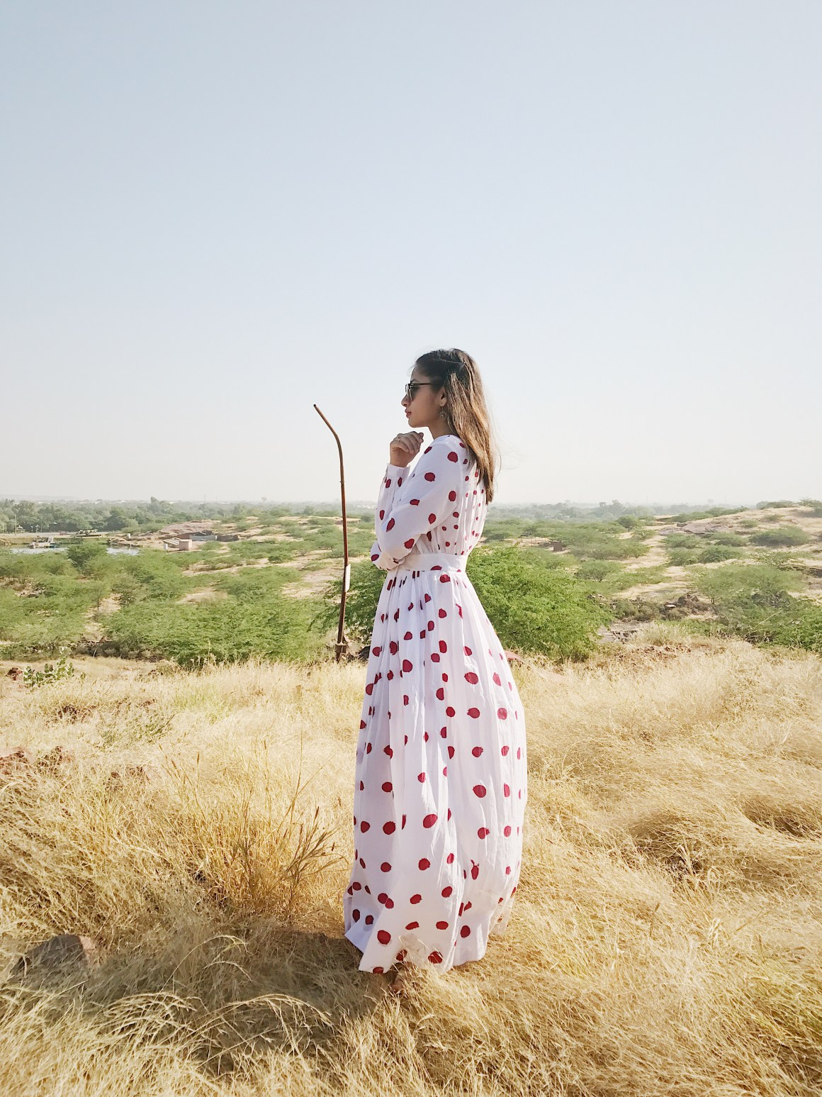 Of Summer Days & Cotton Dresses | Polka dot dress - Nicobar