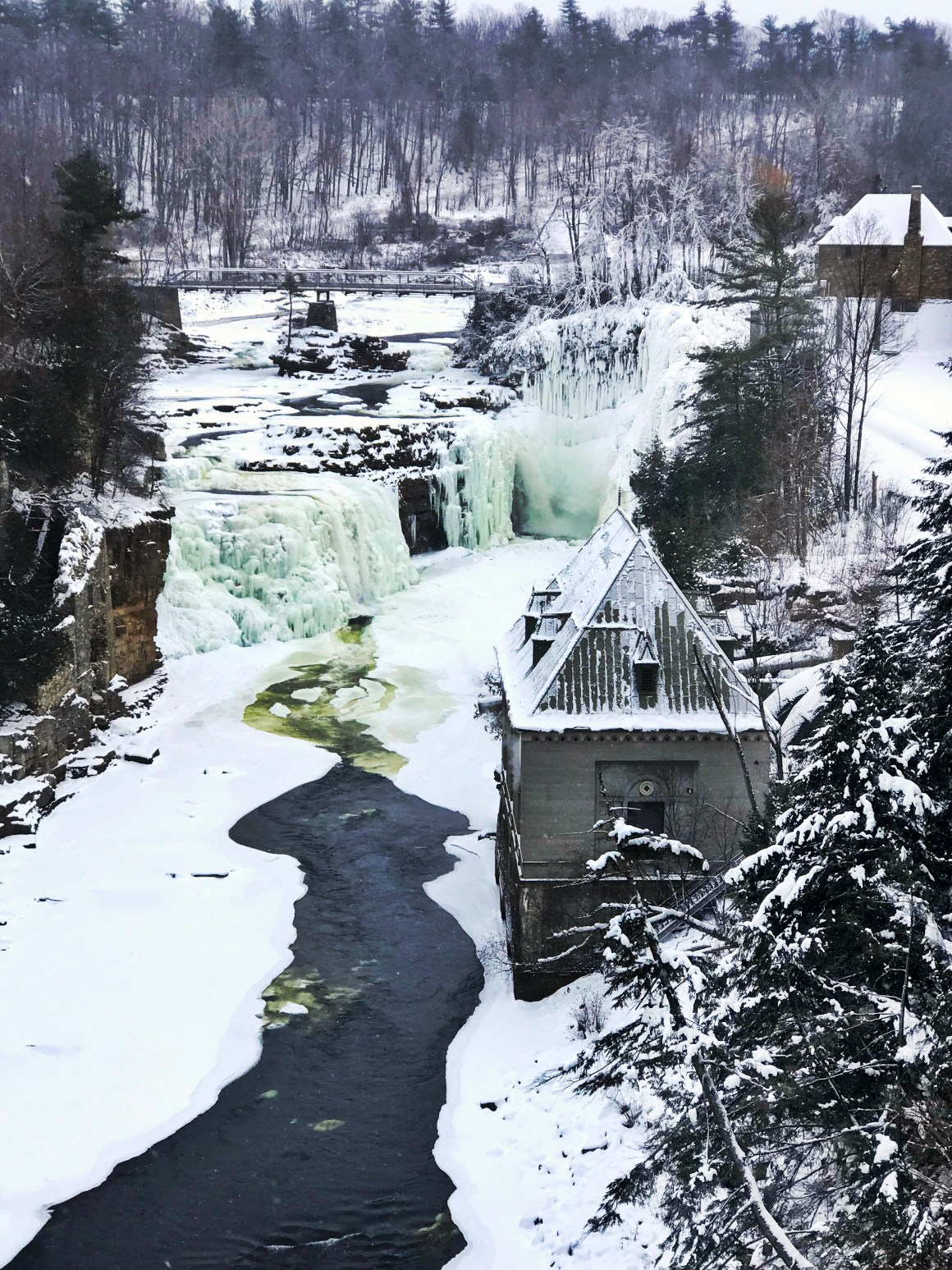 Is Winter Travel Worth It? Ausable Chasm, Adriondack