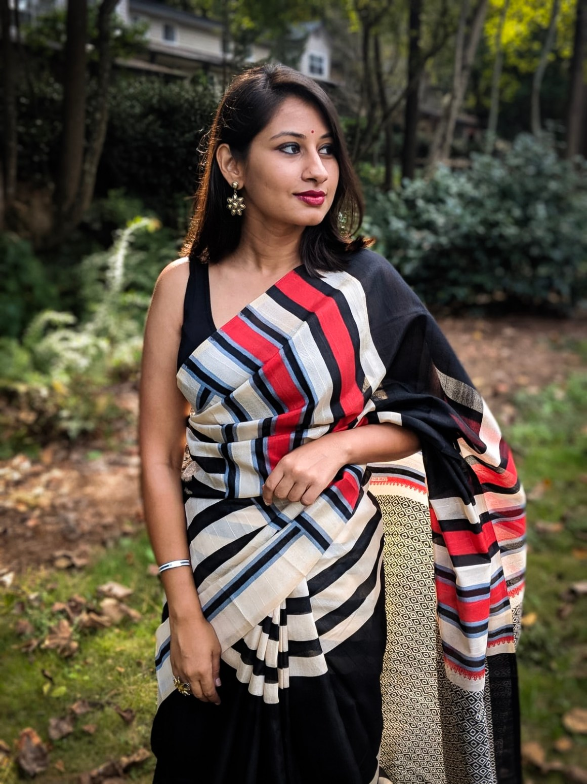 Saree & Stripes