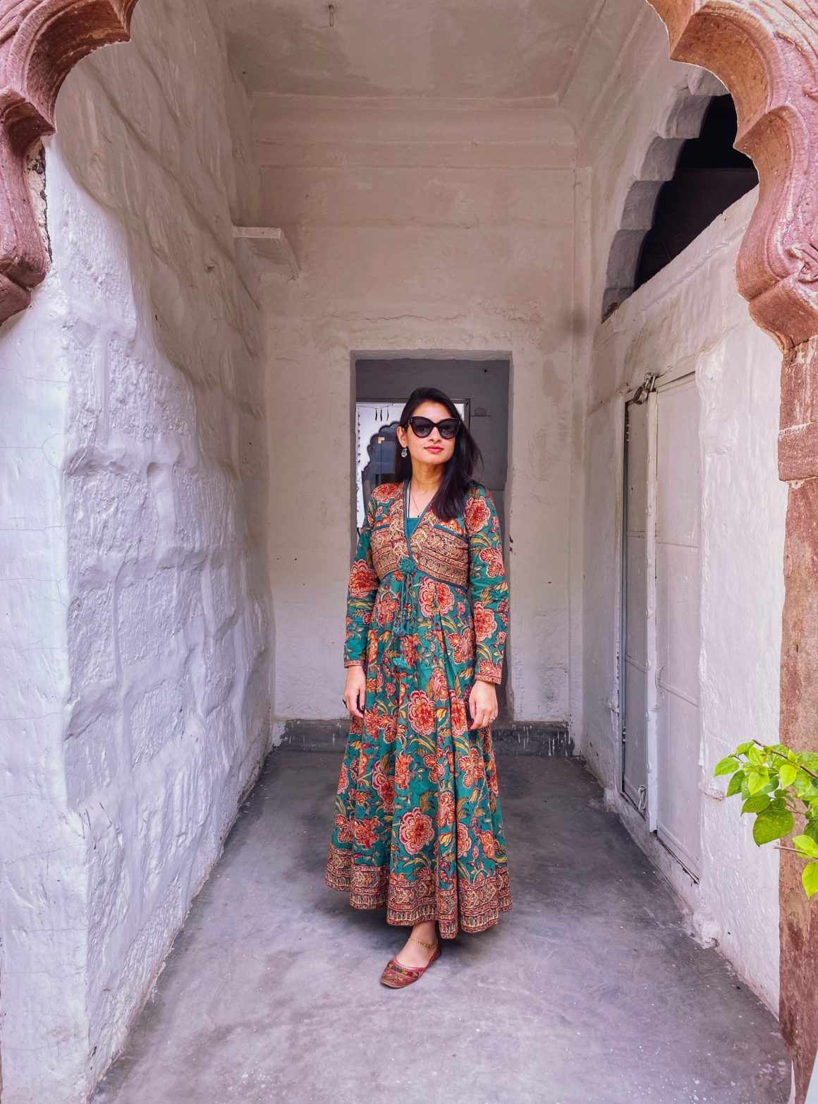 Anokhi block print dress