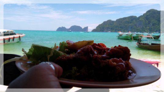 Buffet Lunch, Phi Phi