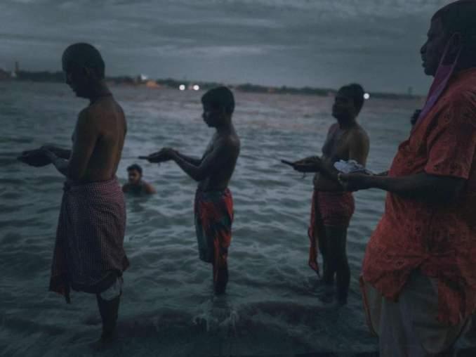 Tarpan in River Ganges