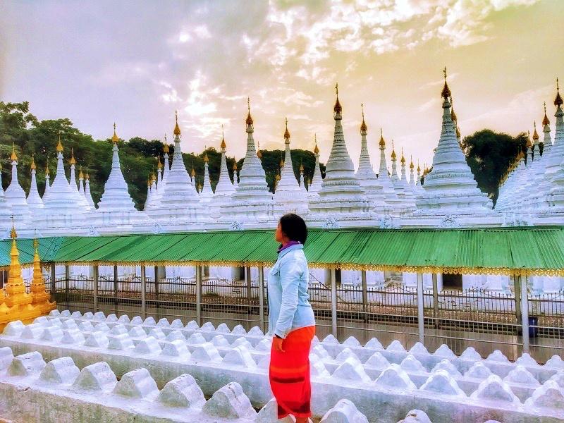 Sandamuni Pagoda Sunset