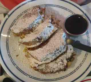Marzipan Stollen French Toast at Morse's Sauerkraut