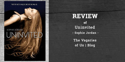 "Review of ""Uninvited"" by Sophie Jordan"