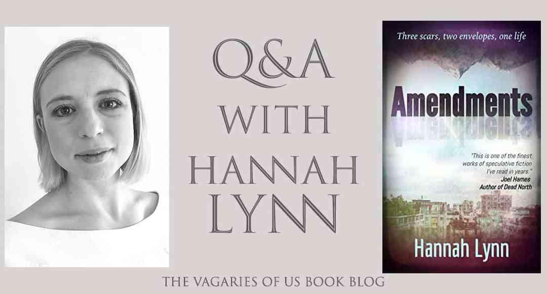 Q & A with Hannah Lynn: Author of Amendments
