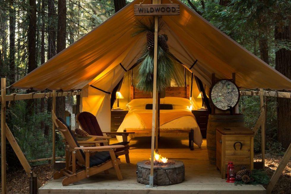 Ventana Campground in Big Sur, California