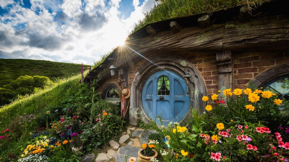 The Hobbiton Movie Set, New Zealand